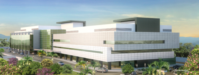 Unimed's projected Green Hospital in Rio de Janeiro