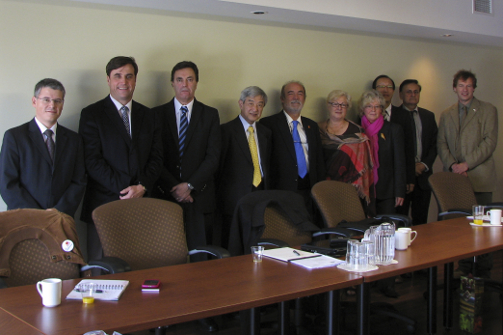 IHCO Board meeting in Canada
