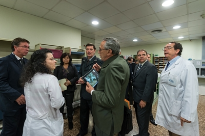 Unimed Minas Gerais delegation at Hospital de Barcelona