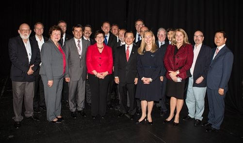 Members of the new ICA Board