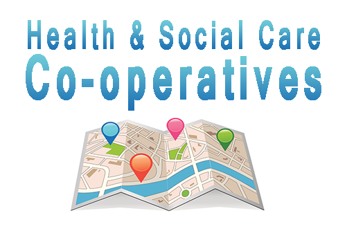Health & Social Care Co-operatives  Map